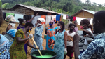 Training of women and men in soap making
