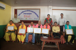 Felicitating WASH Champions