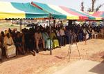 Cérémonie d'inauguration de l'unité de transformation de produits céréaliers, maraichers, oléagineux, forestiers, protéagineux et animaliers dans commune de Socoura, le cercle de Mopti
