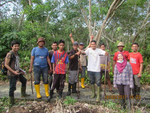 Peat Thickness Survey in Bengkalis Island