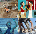 Exhibition : Archaeology and me