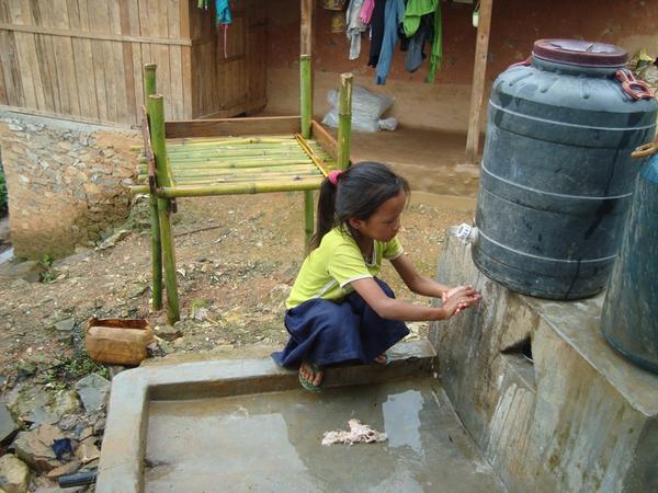 Hand Washing in Practice in Jaljala