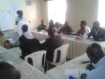 WOMEN TRAINING ON RIGHTS TO WATER AND SANITATION