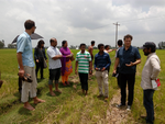 Field Visit for understanding of crop fields (in terms of satellite data)