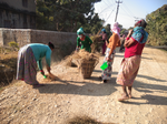 Road nd drainage cleaning event at gabhar
