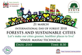 """""""Forests and Sustainable Cities"""""""