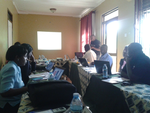 Akvo FLOW training in Soroti, Uganda