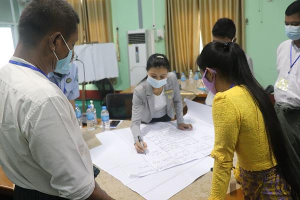 Polder Model in Myanmar