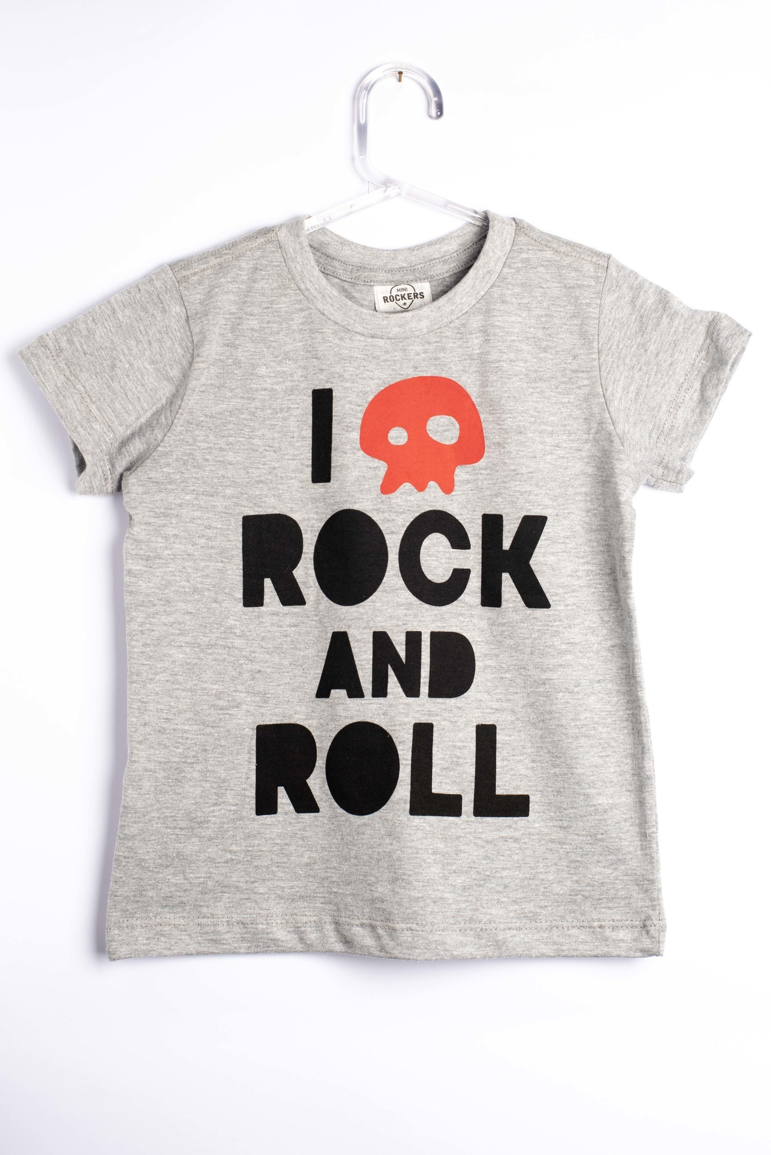 Camiseta Love Caveira - Mini Rockers