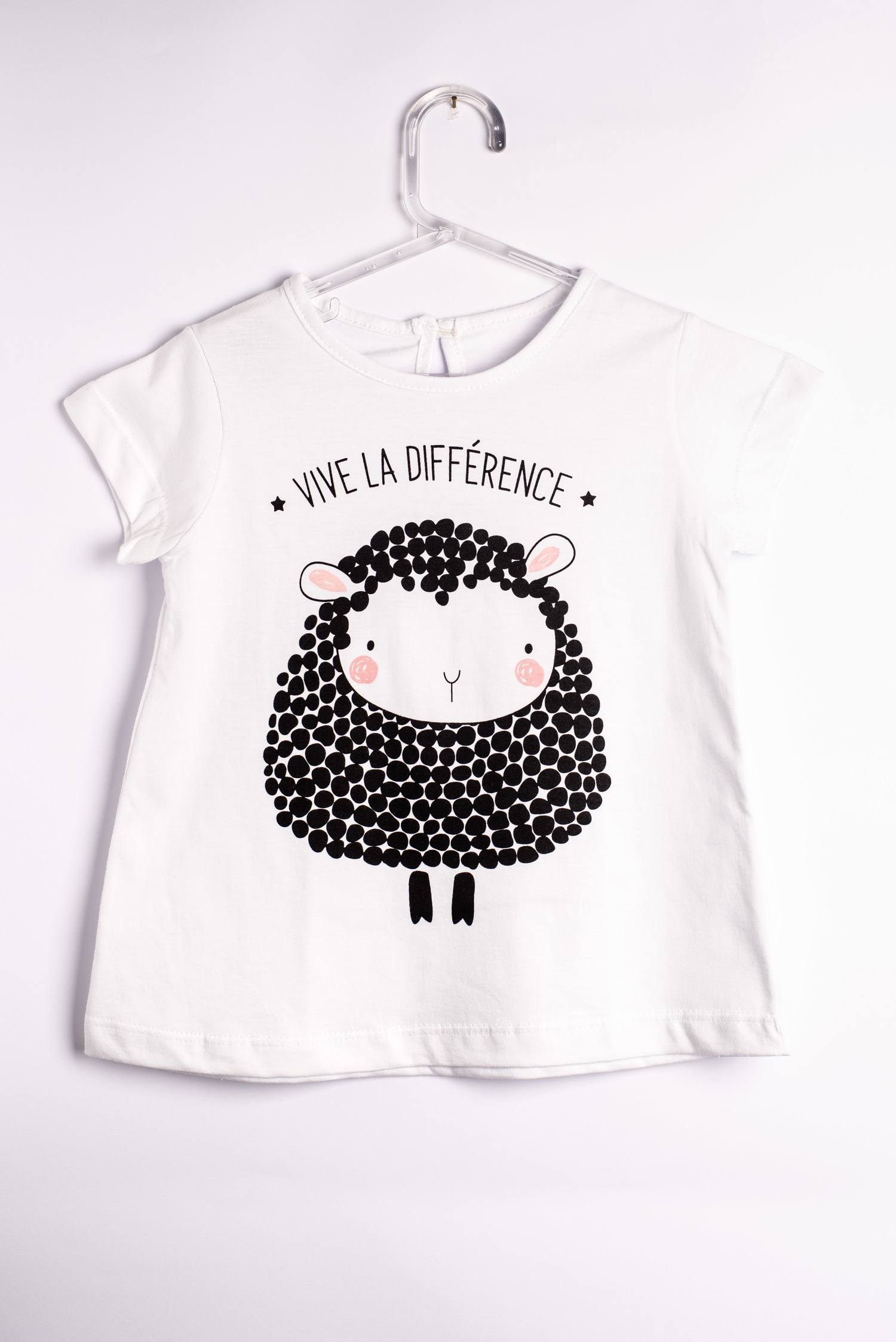 Camiseta Ovelha Negra - Mini Rockers