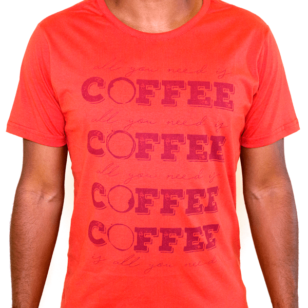 Camiseta Masculina All You Need Is Coffee