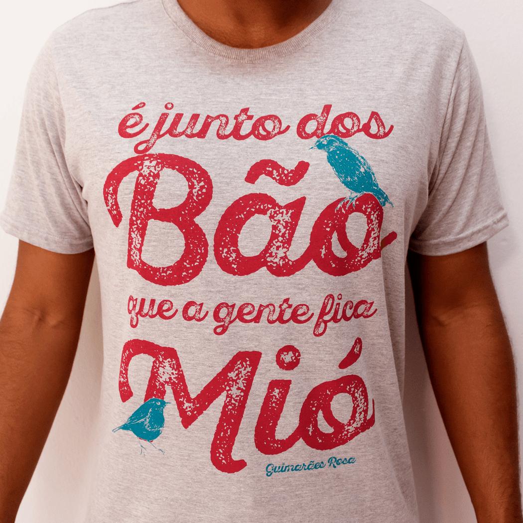 Camiseta Masculina Junto dos Bão