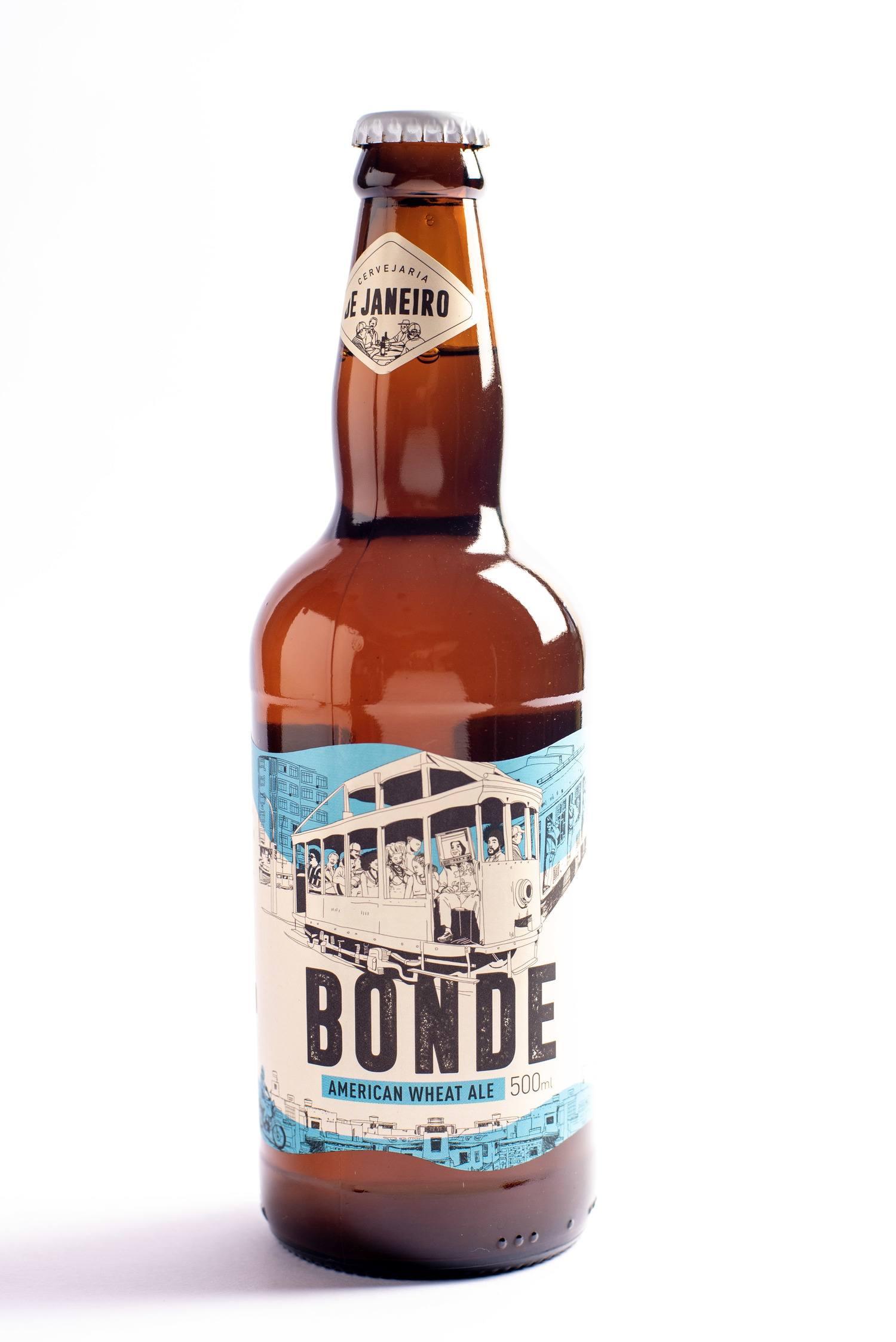 Cerveja Bonde - American Wheat Ale - De Janeiro