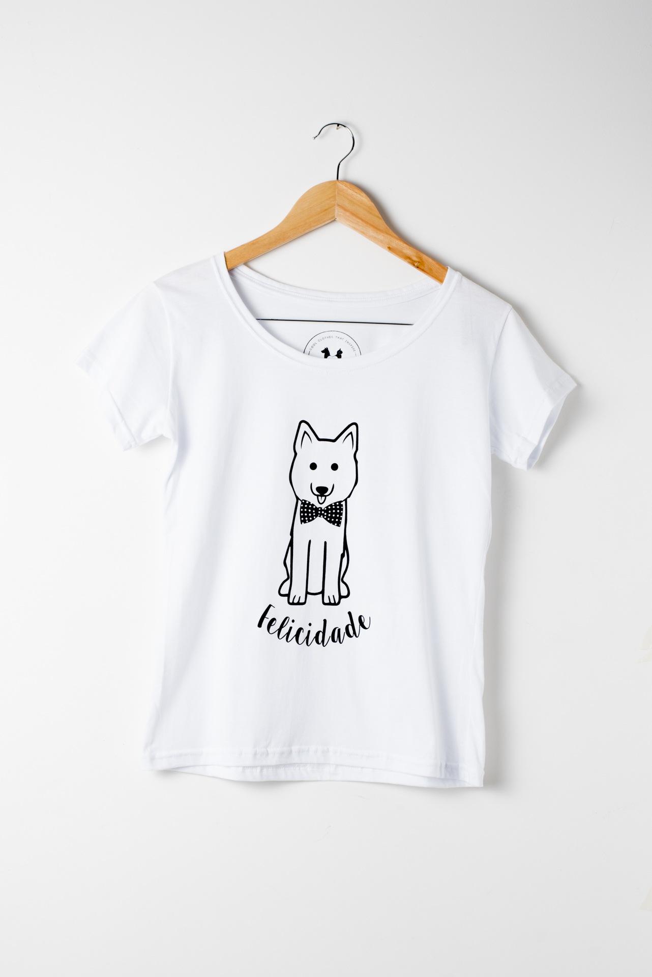 T-Shirt Felicidade - Felicis