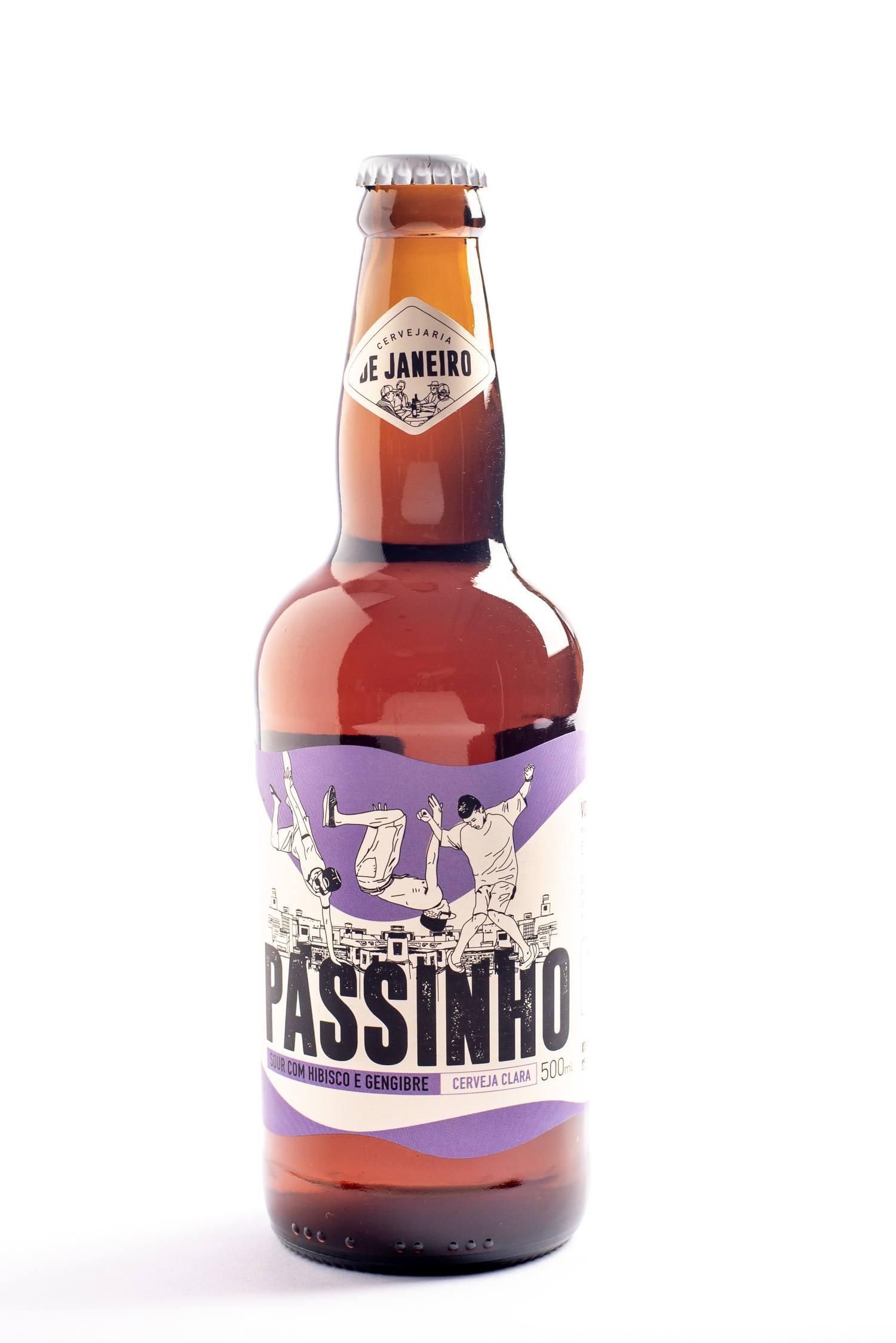 Passinho (Sour com Hibisco e Gengibre) - De Janeiro