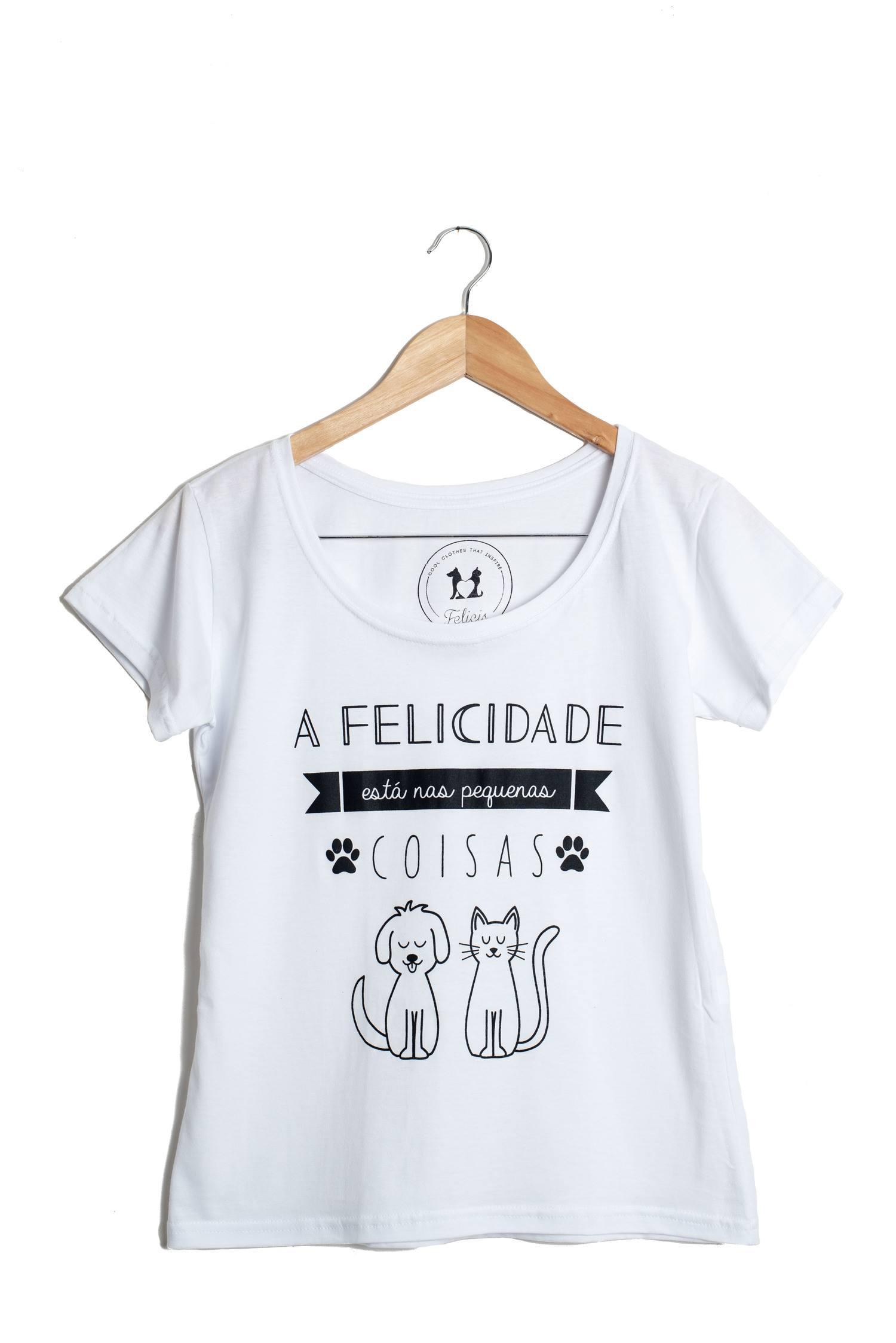 T-Shirt Pequenas Coisas - Felicis