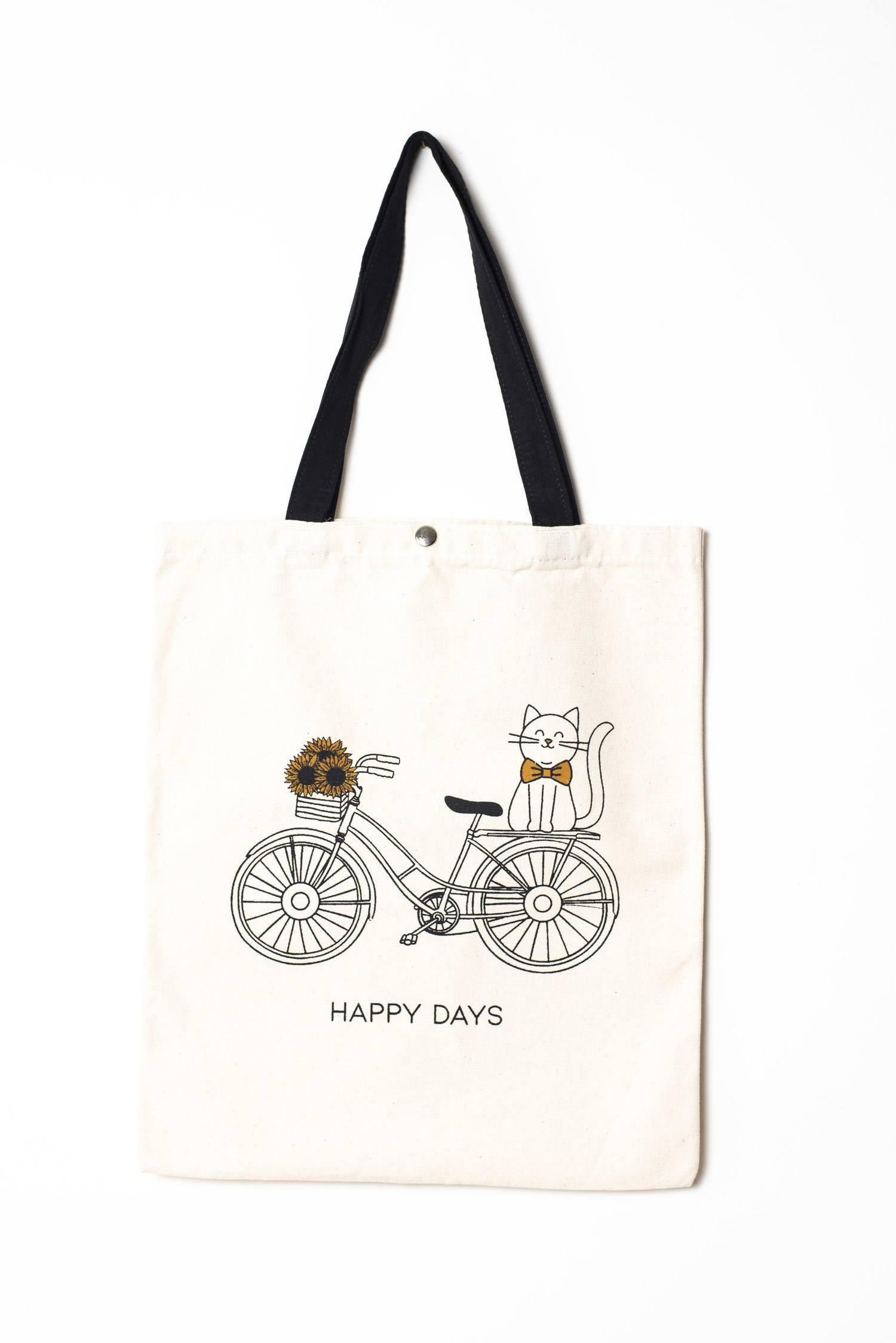 Tote Bag Bike Cat - Felicis