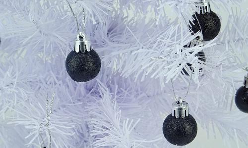 Mini Palline Nere Di Natale Christmas Concepts