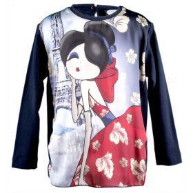 Camiseta Niña Monnalisa 118641-8201 (Multicolor, 10-años)