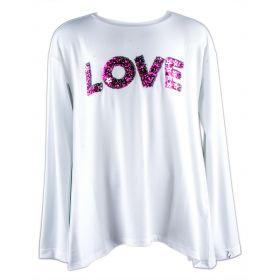 Camiseta Niña Liu·Jo G66020J0205 (Blanco, 16-años)