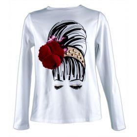 Camiseta Niña Liu·Jo G66103J0088 (Blanco, 8-años)