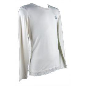 Camiseta Niña Twin-Set GA62AC (Blanco, 12-años)