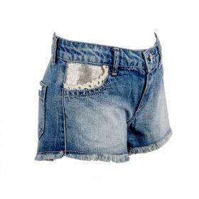 Pantalón corto vaquero Niña Twin-Set GS62A3 (Azul-01, 14-años)