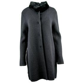 Abrigo Mujer Blugirl 04001 (Negro, L)