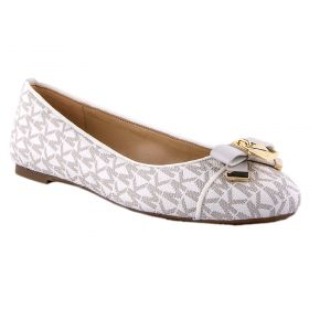 Bailarina Mujer Michael by Michael Kors Alice Logo Ballet (Beige-01, 38½)