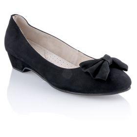 Bailarina Mujer Isotoner 93406 (Negro, 38)