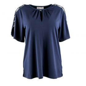 Blusa Mujer Michael by Michael Kors MS75LCU03G (Azul-01, S)