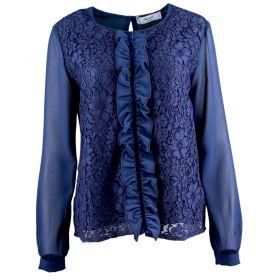 Blusa Mujer Blugirl 04582 (Azul-01, S)