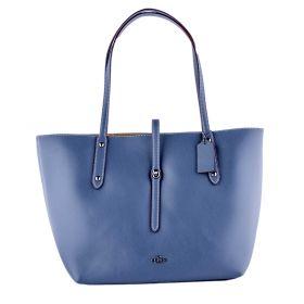 Bolso Mujer Coach 58849 (Azul-02, Única)