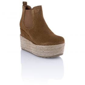 Botín Mujer Hangar shoes 4540 (Marron, 38)