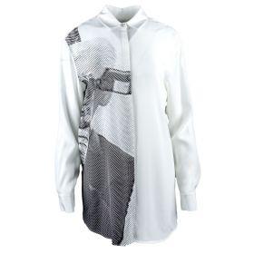 Camisa Mujer Karl Lagerfeld 75KW1600 (Blanco, L)