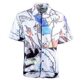 Camisa Hombre Bara BARA03 (Blanco, S)
