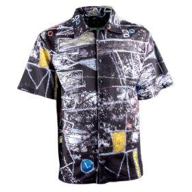 Camisa Hombre Bara BARA02 (Negro, S)