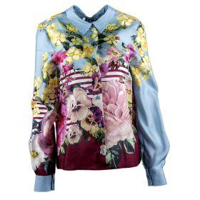 Camisa Mujer Blugirl 03364 (Multicolor, M)