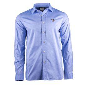 Camisa Hombre Aeronautica Militare CA1043CT2234 (Azul-01, M)