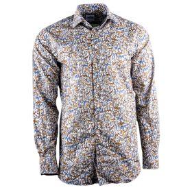 Camisa Hombre Emanuel Berg Warsaw 11723 (Multicolor, XL)