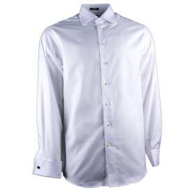 Camisa Hombre Andrew-J AJ-222-701 (Blanco, XL)