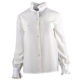 Camisa Mujer Blugirl 04556 (Blanco, S)