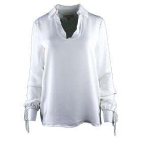 Camisa Mujer Michael by Michael Kors MH64L1KVY0 (Blanco, XL)