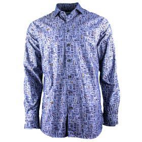 Camisa Hombre Emmanuel Berg 21704721705502 (Multicolor, XXXL)