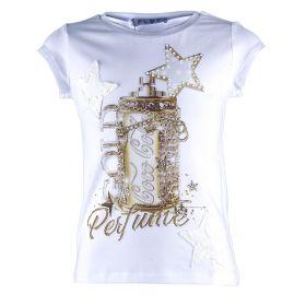 Camiseta Niña Elsy 49290T10 (Blanco, XXL)