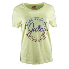 Camiseta Mujer Juicy Couture JWFKT73488 (Verde-02, L)