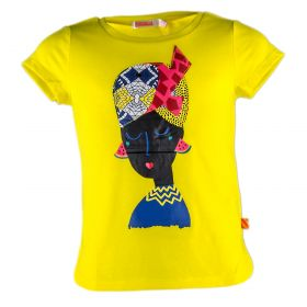 Camiseta Niña Bullieblush U15385 (Amarillo, 3-años)