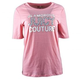 Camiseta Mujer Juicy Couture WTKT62192 (Rosa, L)