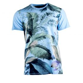Camiseta Hombre Benvenuto 67582-46236 (Azul-03, L)