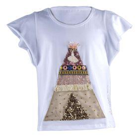 Camiseta Niña Elisabeth Puig Positano 212 (Blanco, 10-años)